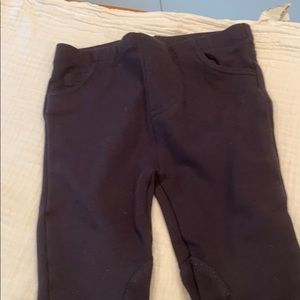 Egg by Susan Lazar navy 2t jegging riding pants